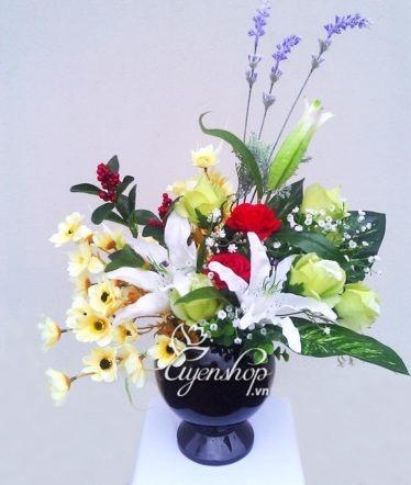 hoa lua - hoa gia - uyenshop