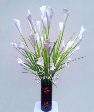 hoa lua - hoa rum trang - uyenshop