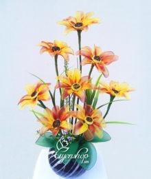 hoa voan - hoa cuc - uyenshop