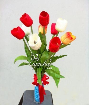 tulip thom - hoa lua - uyenshop