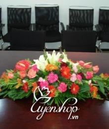 Hoa phòng họp