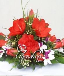 hoa phong hop - hoa lua - uyenshop