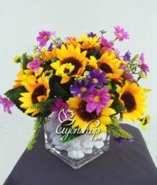 hoa hướng dương - hoa lua - uyenshop