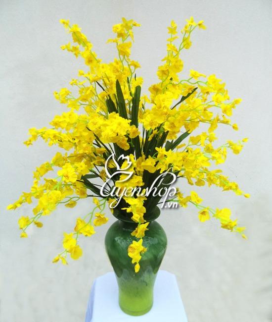 hoa lụa - hoa vũ nữ - uyenshop