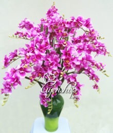 binh hoa do quyen - hoa lua - uyenshop