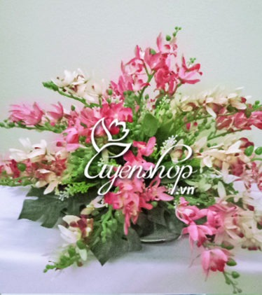 đĩa hoa - hoa lua - uyenshop