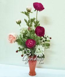 hoa giả - hoa trà - uyenshop