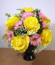 hoa de ban - hoa lua - uyenshop