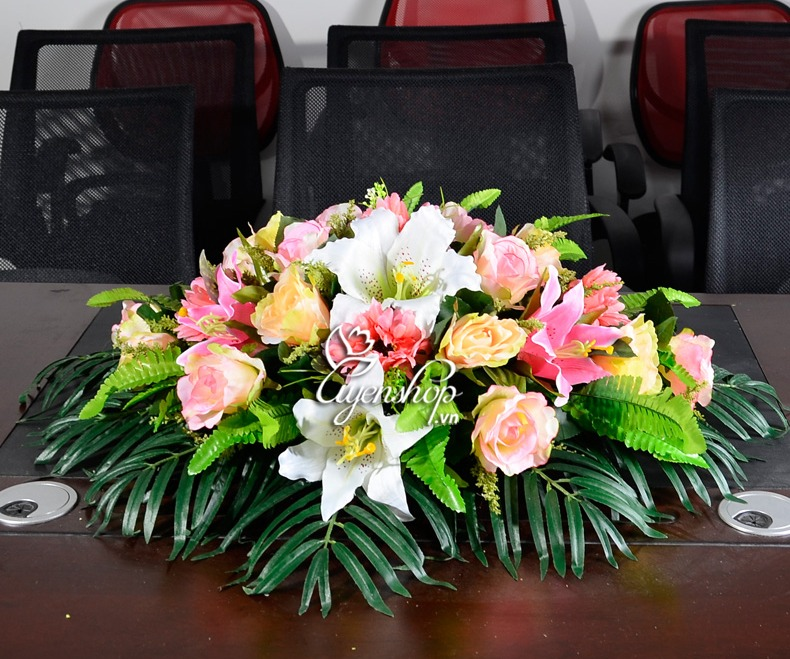 hoa phong hop - hoa lua uyenshop