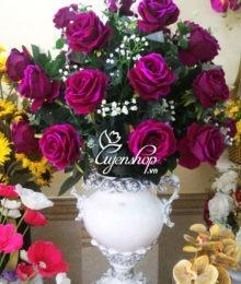 hoa hong nhung tim