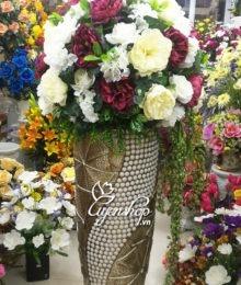 Bình hoa Mẫu Đơn