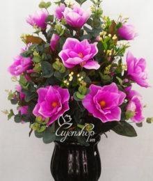 Bình hoa Mộc Lan tím