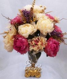 Bình hoa Hồng Ren