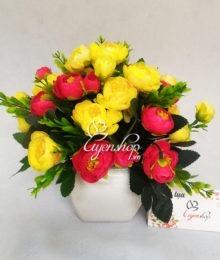 Lọ hoa trà xinh