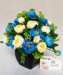 Lọ hoa trà xanh