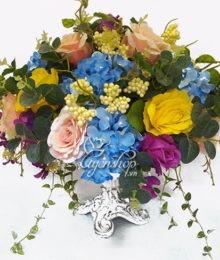 Thuyền hoa đẹp