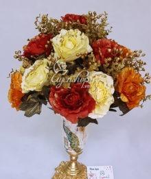 Bình hoa Chim Công