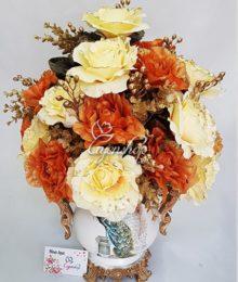 Bình hoa Lụa