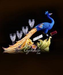 Chim công trang trí